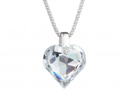 Stříbrný přívěsek Élan s českým křišťálem Preciosa - krystal