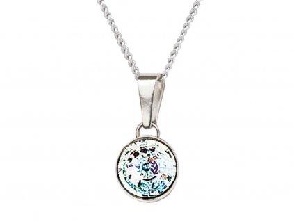 Stříbrný přívěsek Sparkling Shine s českým křišťálem Preciosa - krystal