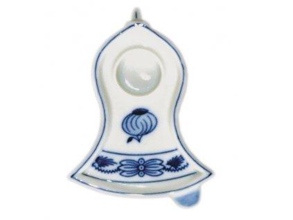 Svícen plochý - zvonek 10619