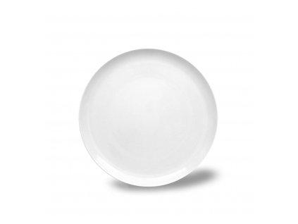 Talíř desertní, Thun 1794, karlovarský porcelán, TOM bílý, nedekorovaný průměr 19cm