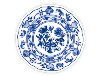 Talíř dezertní praporový 13cm - cibulový porcelán 10006