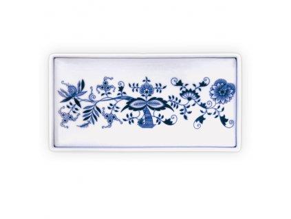 Talíř na ryby obdelníkový - cibulový porcelán 10594