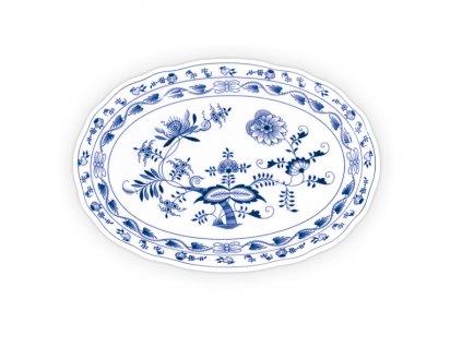 Talíř oválný - cibulový porcelán 10483