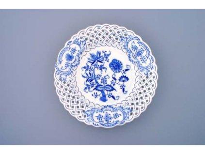 Talíř prolamovaný - cibulový porcelán 10154