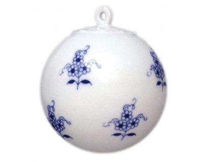 Vánoční ozdoba - koule malá C68 - cibulový porcelán 10635