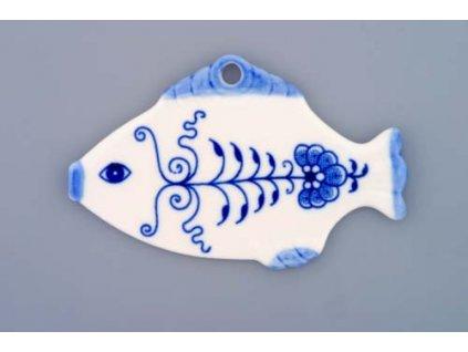 Vánoční ozdoba - rybička - cibulový porcelán 10411