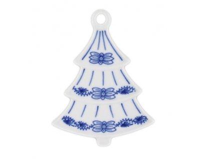 Vánoční ozdoba - stromeček - cibulový porcelán 10596