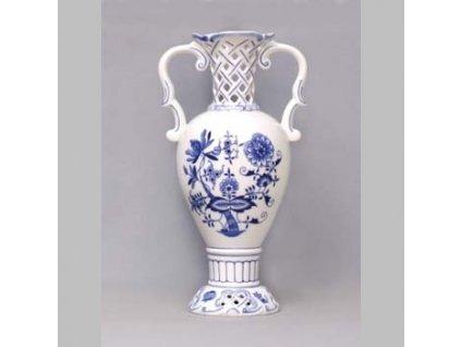 Váza prolamovaná 566/1-261 - cibulový porcelán 10611