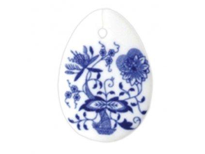 Velikonoční ozdoba - vajíčko - závěs - cibulový porcelán 10636 / 00001