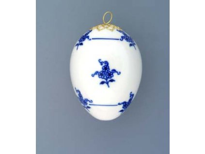 Velikonoční vajíčko závěsné - cibulový porcelán 10301 / 00012