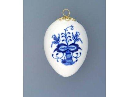 Velikonoční vajíčko závěsné - cibulový porcelán 10301 / 00013