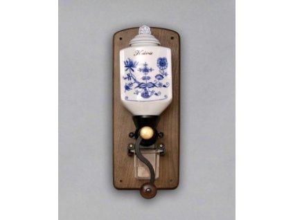 Závěsný mlýnek na kávu - cibulový porcelán 70632
