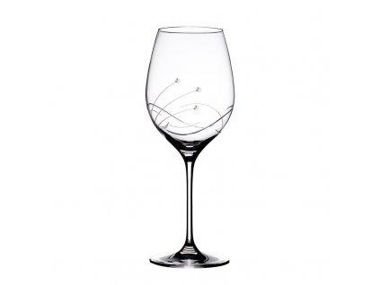 Sklenice na bílé víno Kathe - 6 ks. Swarovski