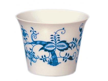 Průsvitka hladká M - cibulový porcelán 10661