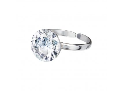 5450 stribrny prsten starry s kubickou zirkonii preciosa krystal