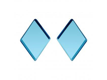 5258 ocelove nausnice fragmentum s ceskym kristalem preciosa modre