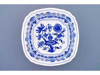 Mísa salátová čtyřhranná ital. 21cm - cibulový porcelán 10064 II.j.