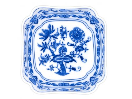 Mísa salátová čtyřhranná vysoká 21cm - cibulový porcelán 10061 II j.