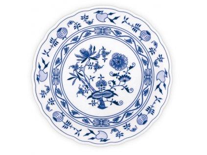 Talíř dortový - cibulový porcelán 10043 II. j.