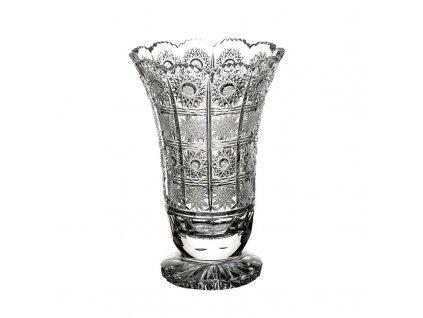 Broušená váza 80838/305mm . Klasický brus 500 PK.