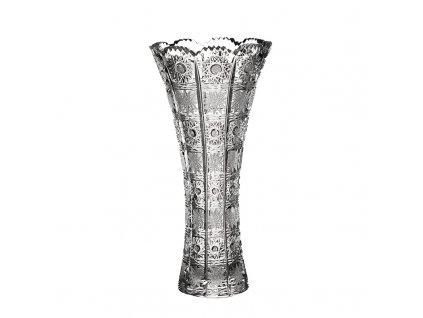 Broušená váza X 80452/305 mm.Klasický brus 500 PK.