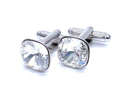 Manžetové knoflíky se Swarovski crystals
