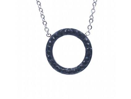 Ocelový přívesek Kruh s ocelovým řetízkem