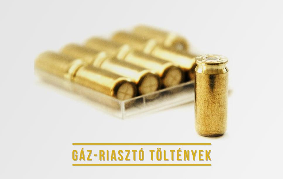 Gáz-riasztó töltények