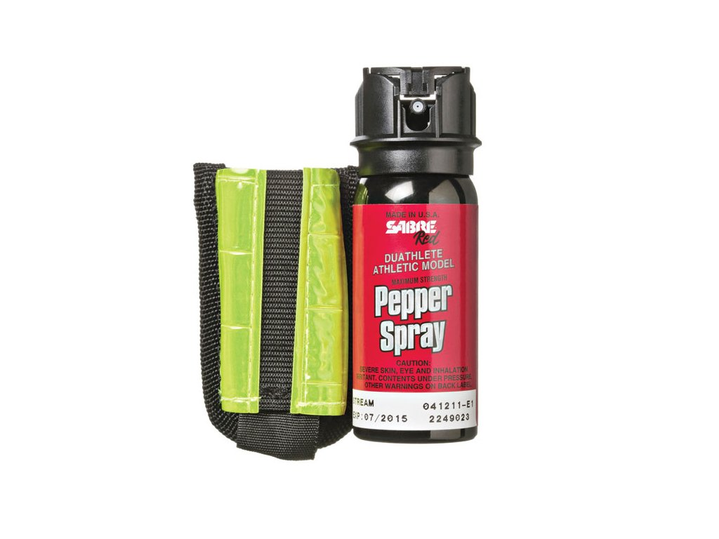 SABRE RED Paprika spray 18 oz fényvisszaverő karpánttal