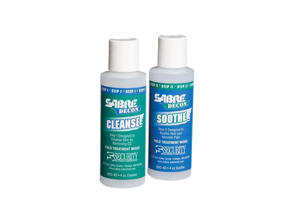 SABRE RED - Paprika spray eltávolító készlet