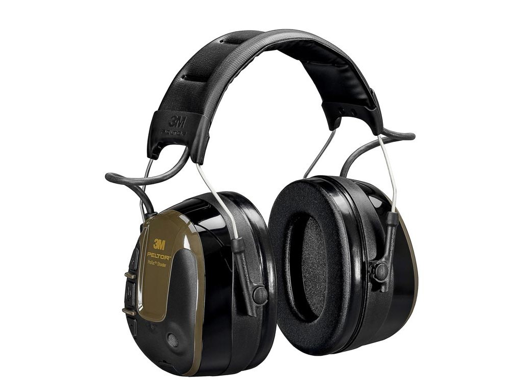 3M™ PELTOR™ ProTac™ Shooter Headset, 32 dB, Zöld, Fejpántos