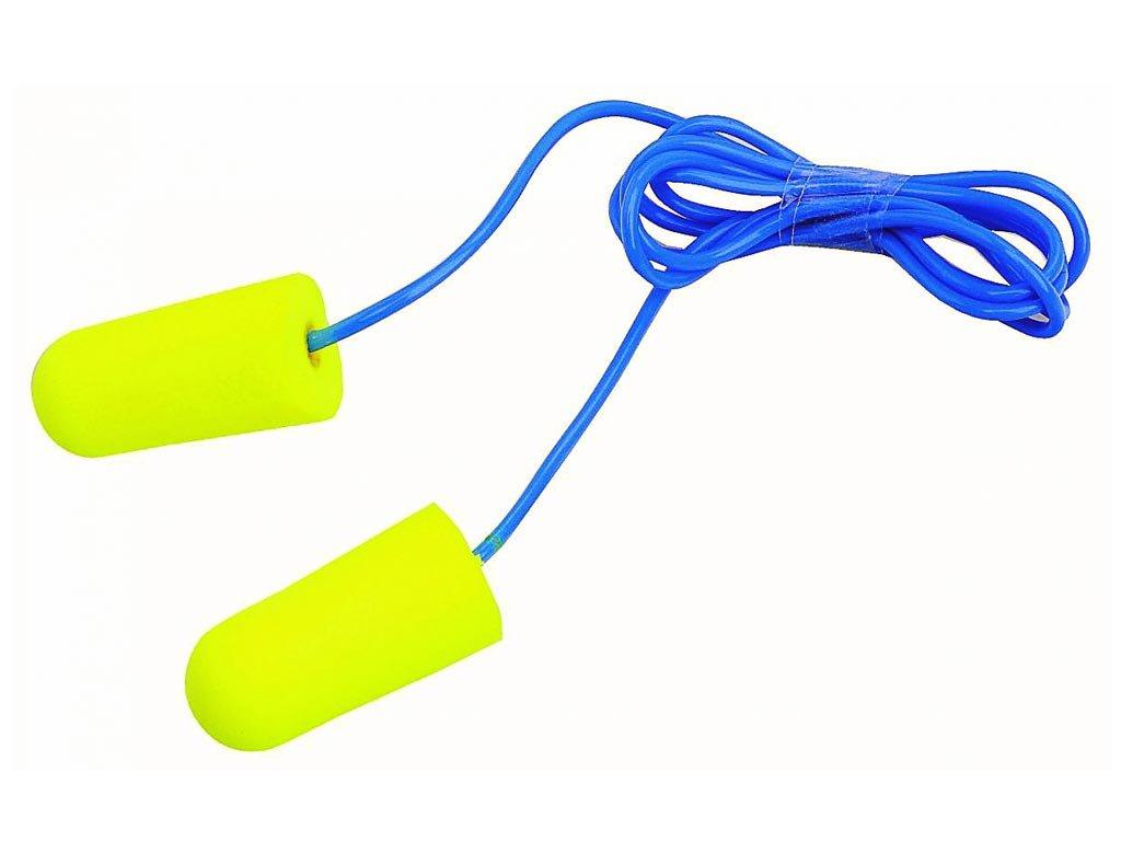 3M PELTOR EAR Soft zsinóros füldugó Neon sárga