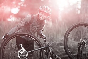 Jarný servis bicykla