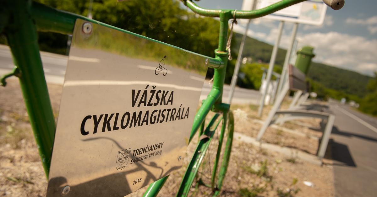 Cyklotrasa: Madunice – Nemšová