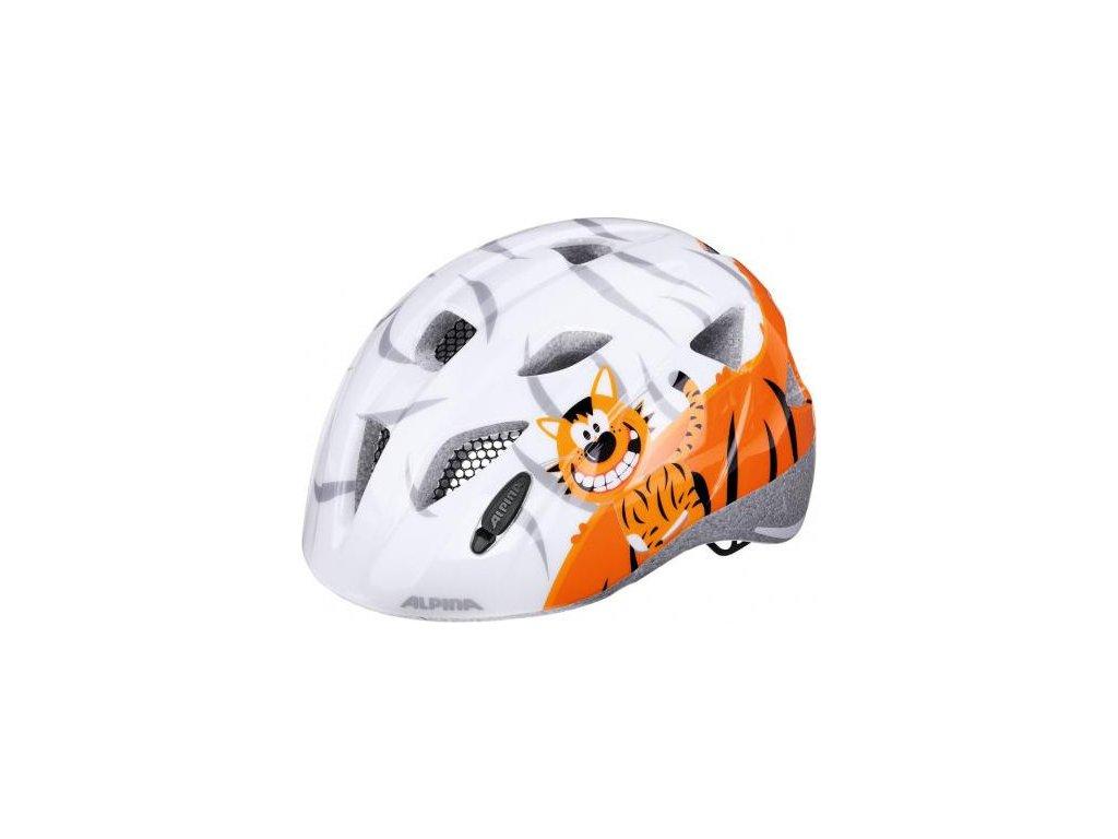 Cyklistická prilba ALPINA Ximo malý tiger