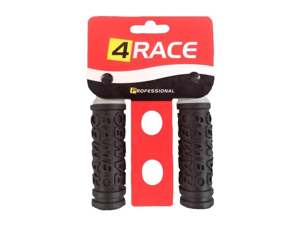 gripy 4RACE  85mm černé