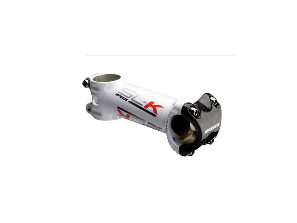 Predstavec FSA SL-K Light White/Red K 90mm