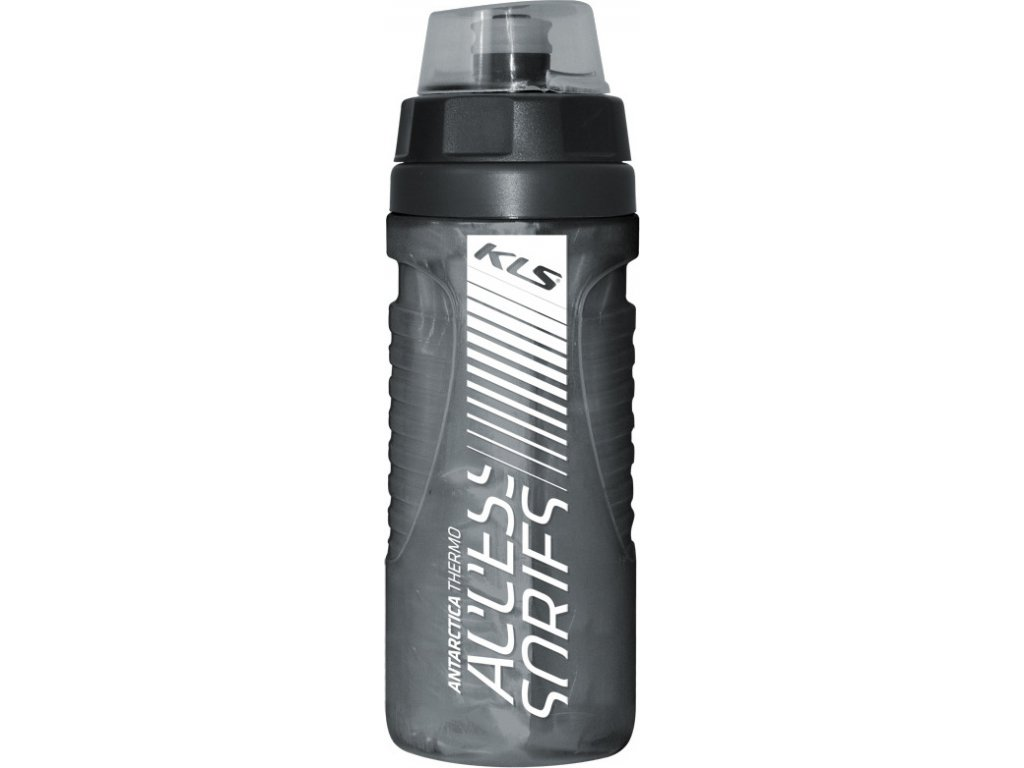 Fľaša ANTARCTICA 0,5L Charcoal Black Thermo