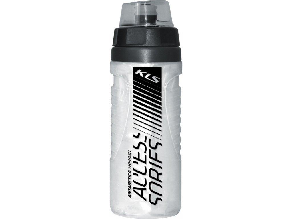Fľaša ANTARCTICA 0,5L Shiny White Thermo
