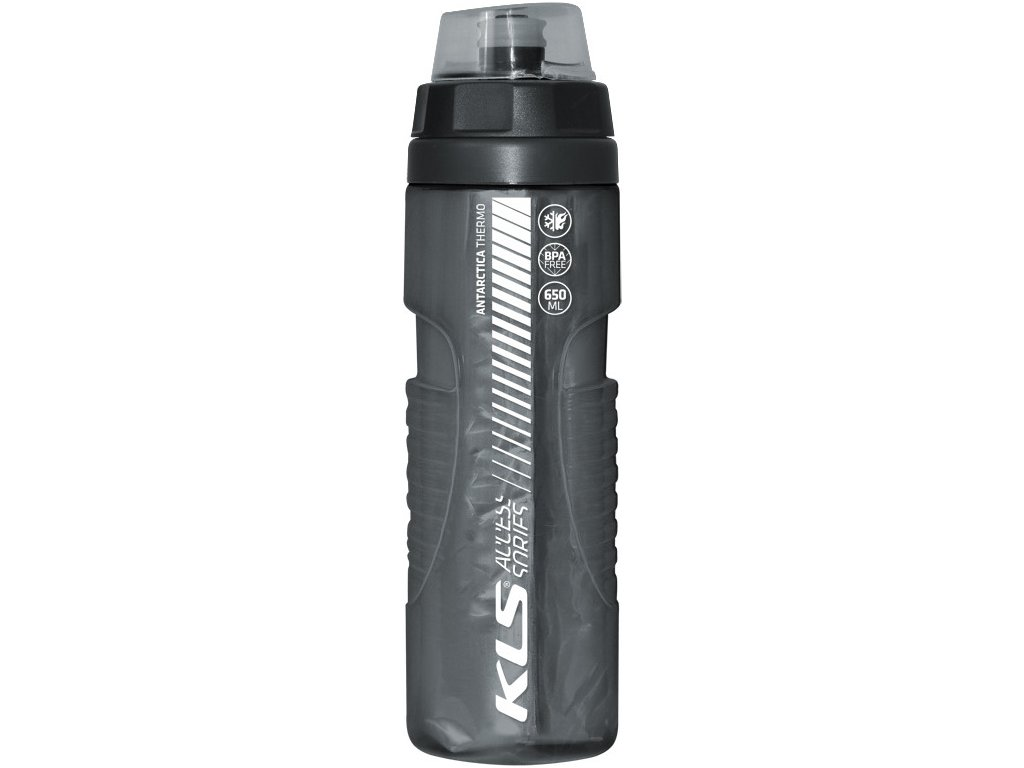 Fľaša ANTARCTICA 0,7L Charcoal Black Thermo