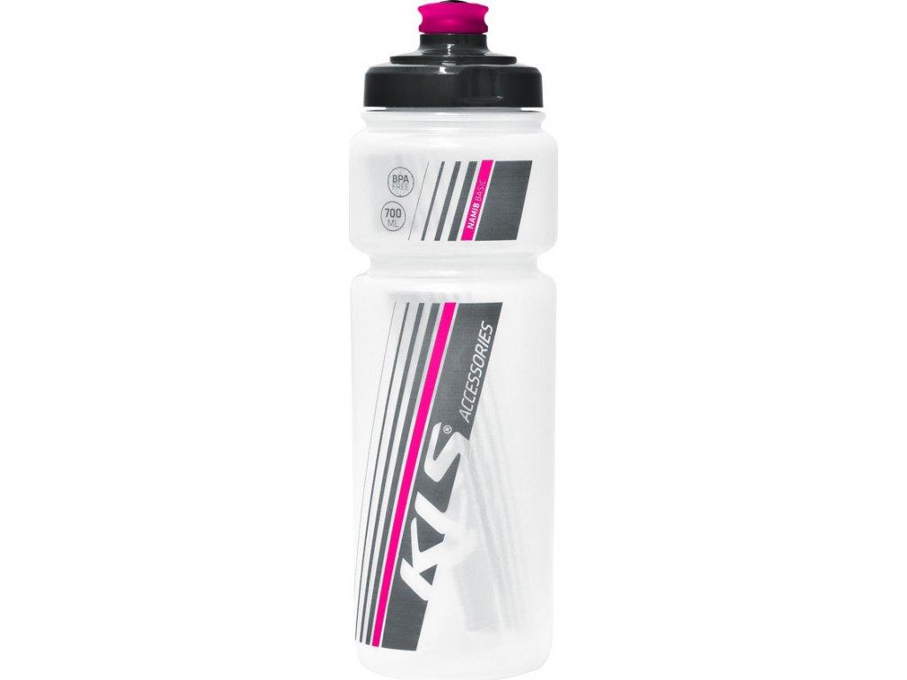 Fľaša NAMIB Transparent–Pink 0,7l