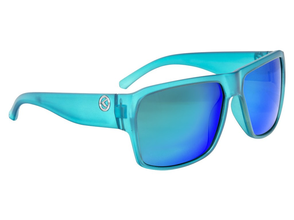 Slnečné okuliare RESPECT- Matt Crystal Blue POLARIZED