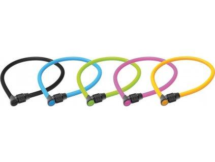 Kabelový zámek Onguard Lightweight Combo 8189 600x Ø 6mm,barevne setr. balení10
