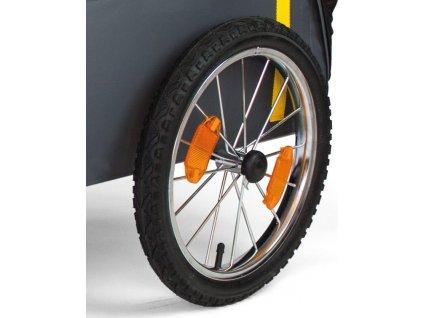 "Zapletené kolo s pláštem 16"" pro závesný vozík 'Traveller'"