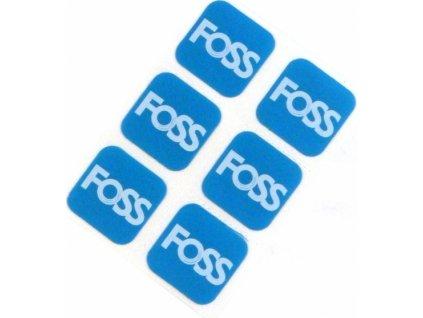 záplaty FOSS sada 6 fleků v balení