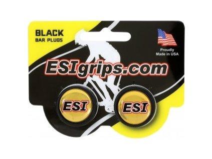 zátky řidítek ESI černé
