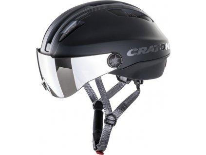 Cyklistická helma Cratoni Evo (Pedelec) vel. S/M (53-57cm)cerná/antracitová mat.