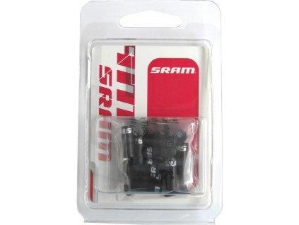 Koncovky sada Satz Sram cerná (10x4mm + 6x5mm + 4x Cable Tip)