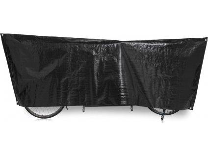 Ochranný obal kola Tandem VK 110 x 300cm, cerná, vcetne ocek