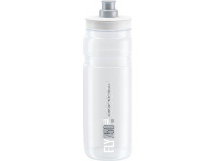 lahev ELITE FLY čirá/šedé logo 750 ml